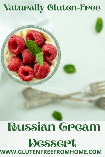 Russian Cream Dessert-Pinterest