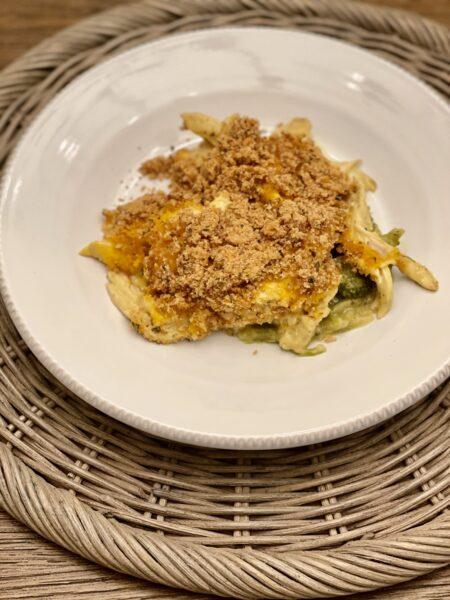 Easy Chicken Broccoli Rice Casserole