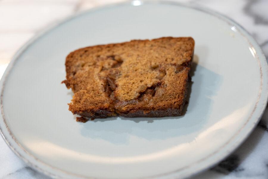 Sliced Gluten Free Apple Bread