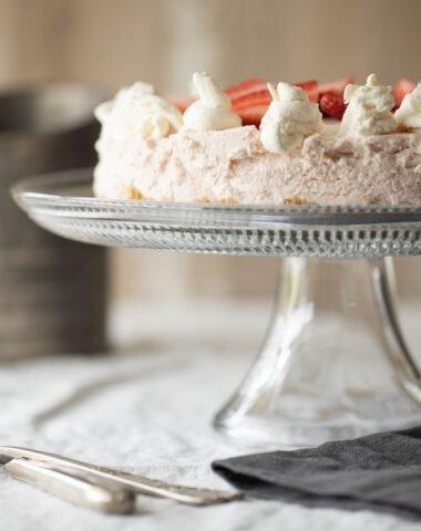 Gluten- Free Strawberry Cream Pie
