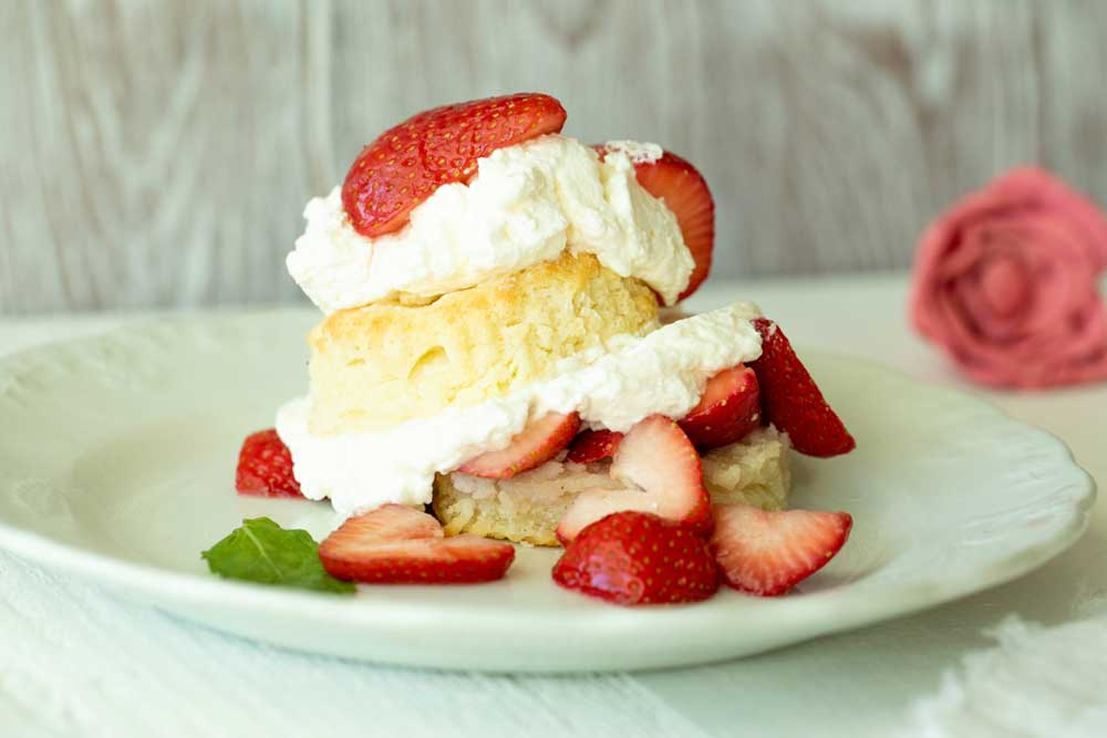 Cup 4 Cup Strawberry Shortcakes