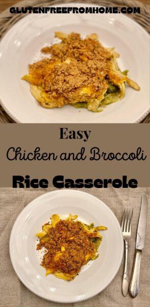 Easy Chicken and Broccoli Rice Casserole