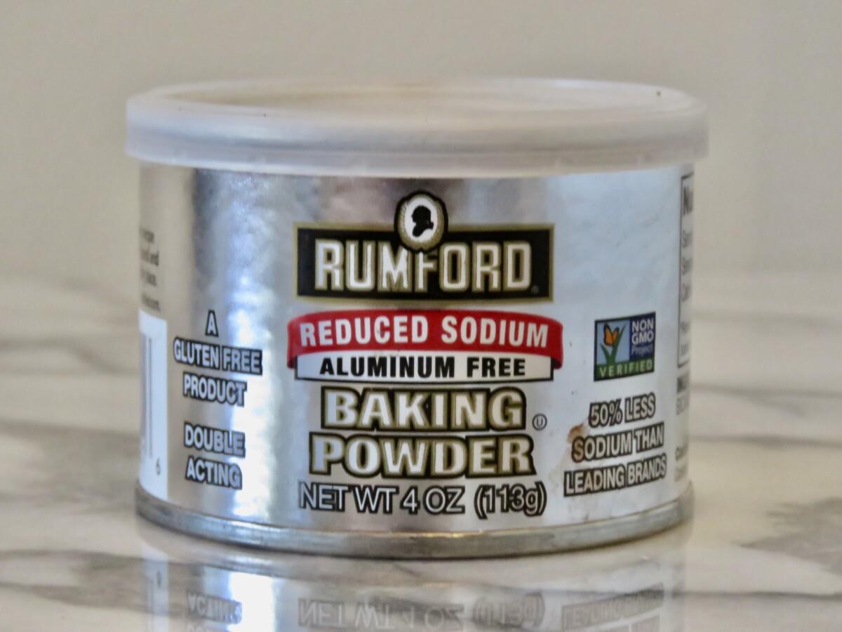 Gluten Free Rumford Baking Powder