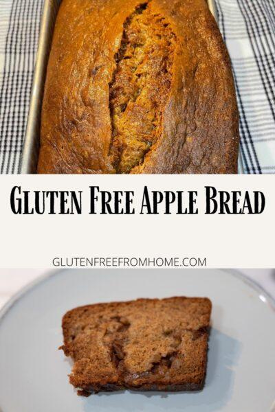 Gluten Free Apple Breadg