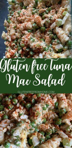 Gluten free Tuna Mac Salad
